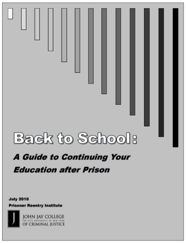 Back to School: A Guide to Continuing Your Education after Prison