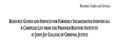 National Directory of Reentry Resource Guides